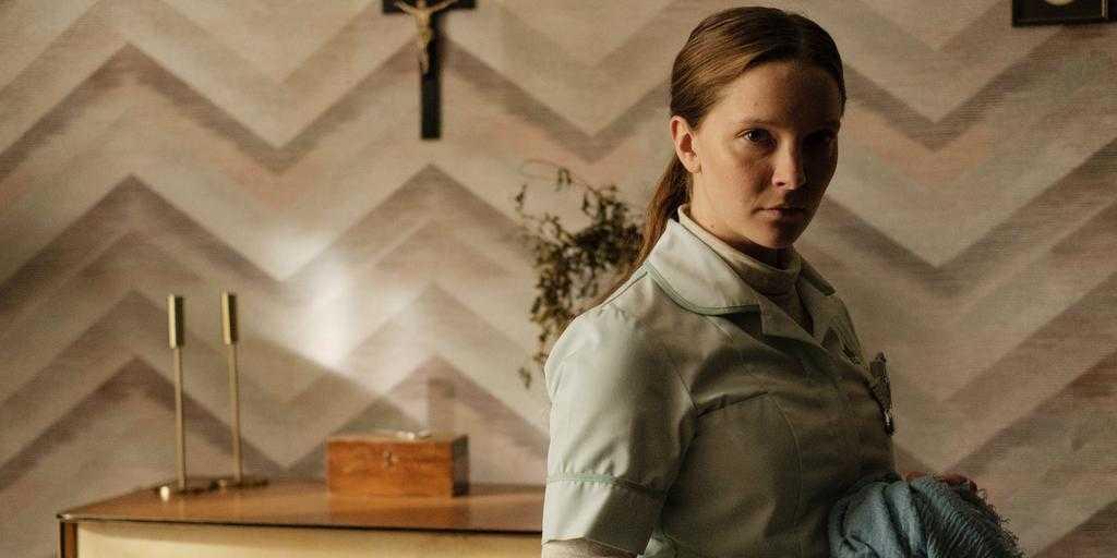 """Skräckfilmen """"Saint Maud"""" om sjuksköterskor och övernaturliga krafter."""
