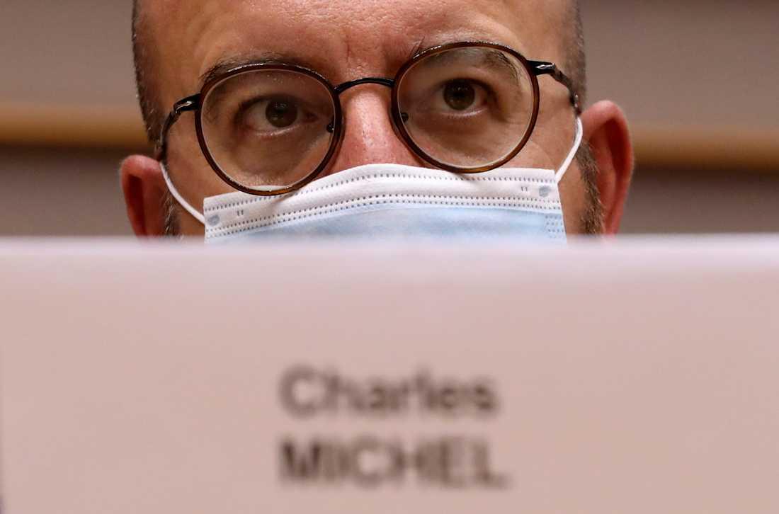 EU:s permanente rådsordförande Charles Michel. Arkivbild.