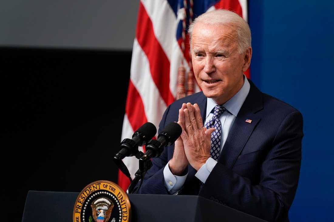 USA:s president Joe Biden fick inte igenom en höjning av minimilönen.