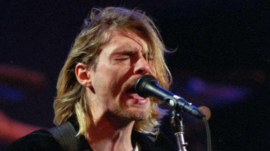 Kurt Cobain var sångare i Nirvana fram till 1994 då han tog sitt liv.