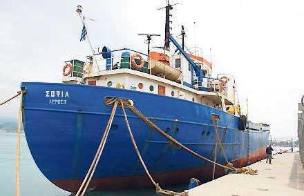Ship to Gaza-fartyget Sofia är en av många båtar som seglar mot Gaza.