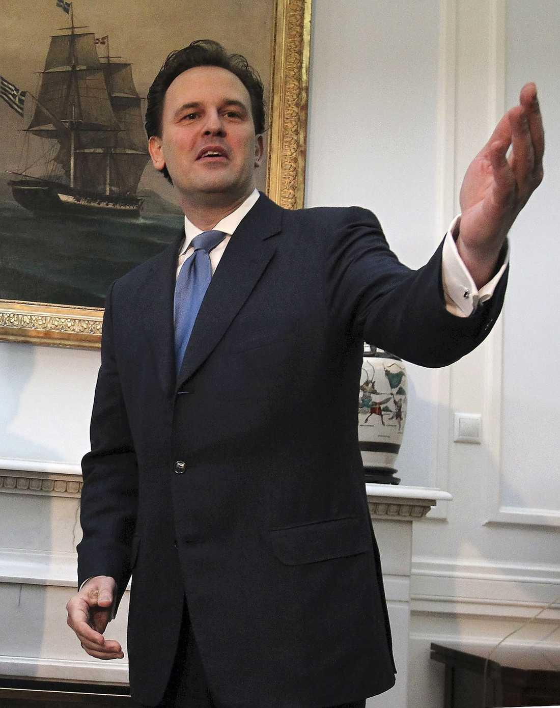 Greklands utrikesminister Dimitris Droutsas.