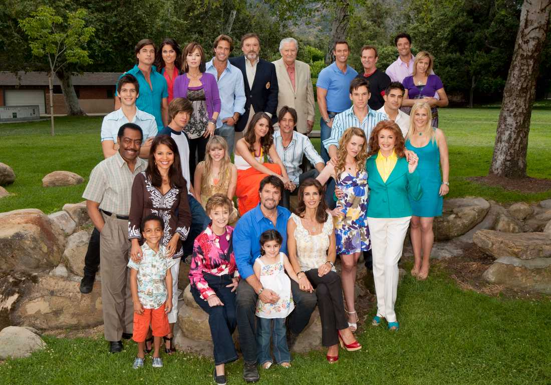 "Hela ""Days of our lives""-familjen."