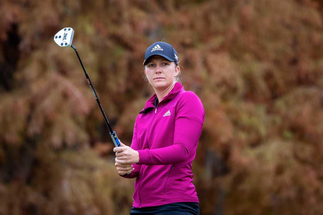 Linnea Ström gick första rundan på 69 slag. Arkivbild.