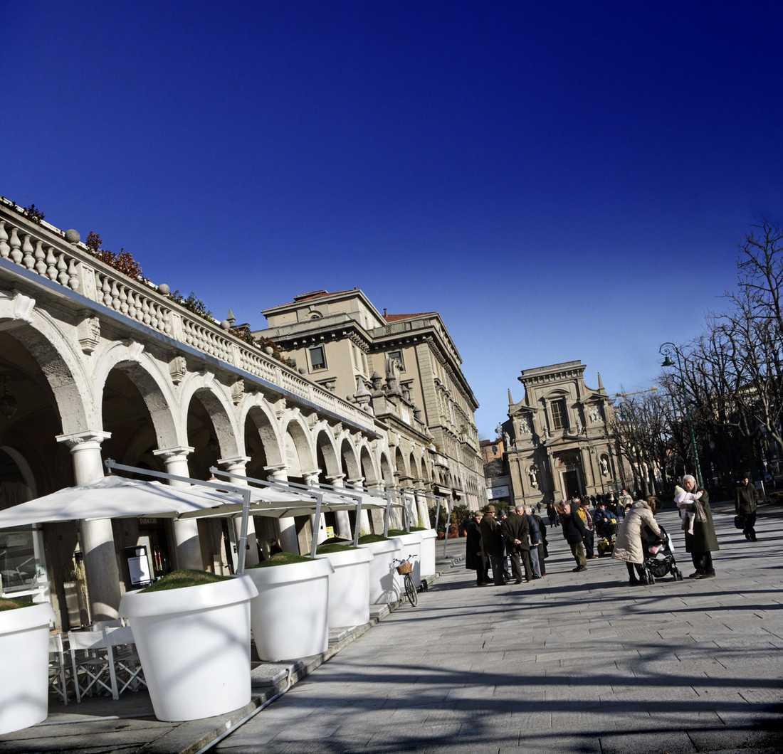 Bergamo är en snygg och välordnad stad, utan att vara tråkig. Här finns inga löskatter eller löshundar och man fimpar inte var som helst.
