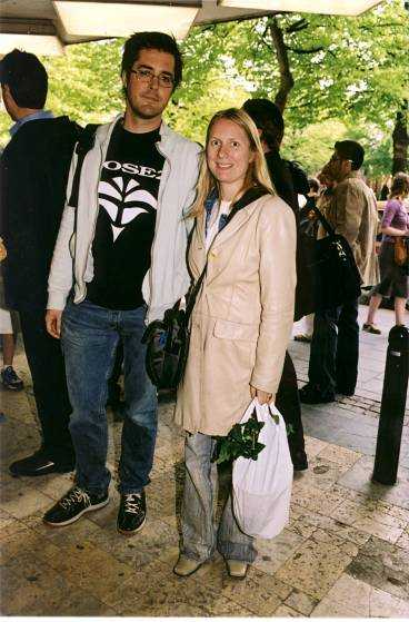 Tomas Granryd och Annika Lantz.