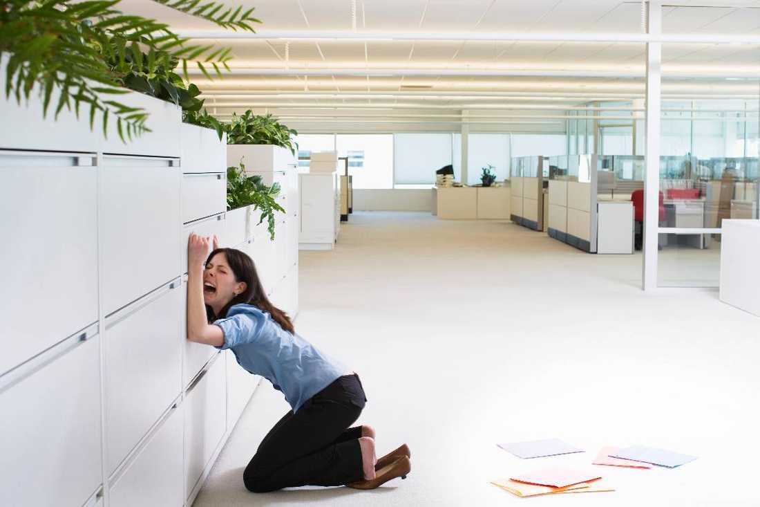 slut på det roligaI dag återgår hundratusentals svenskar till arbetet efter semestern med jobbångest på köpet.