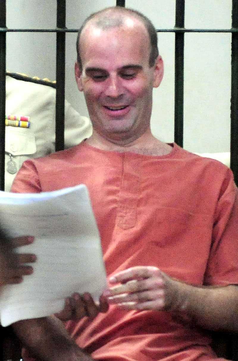 Kanadensaren Christopher Paul Neil greps i oktober förra året. I dag var han i rätten.