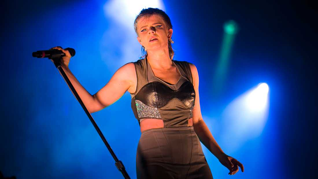 Robyn på Way out west 2014.