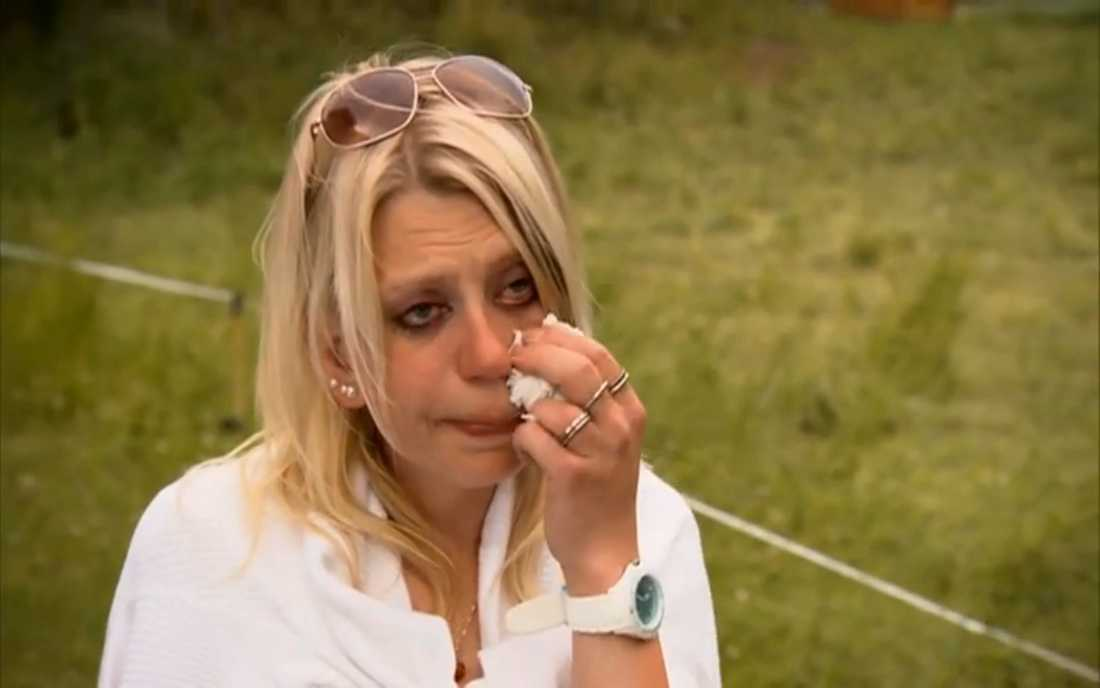 Ulrika kunde inte hålla tillbaka tårarna när Klas fällde domen: Hon var inte längre välkommen på bondens gård.