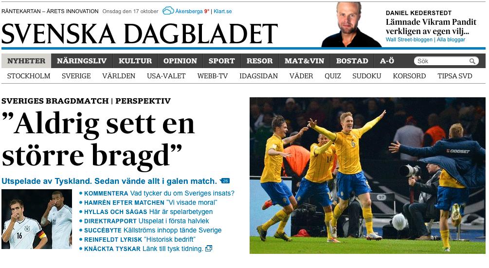 Svenska Dagbladet.