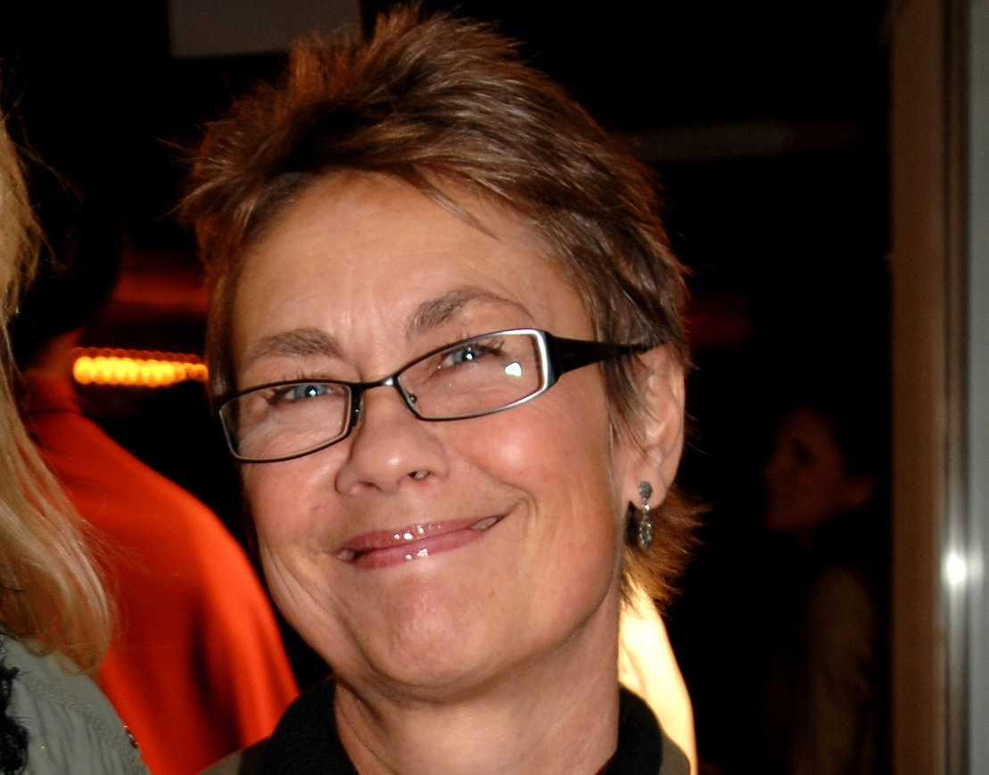Anne-Li Norberg på en filmpremiär 2007.