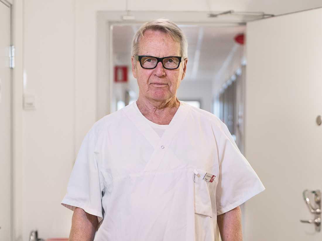 Sven Britton, professor emeritus i infektionssjukdomar