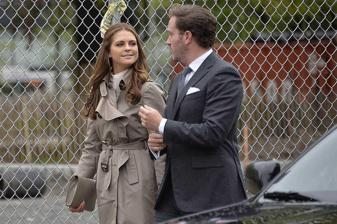 Prinsessan Madeleine och maken Chris O'Neill.
