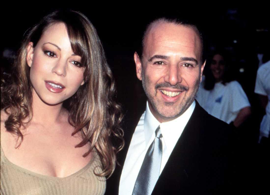 Mariah Carey och dåvarande maken Tommy Mottola.