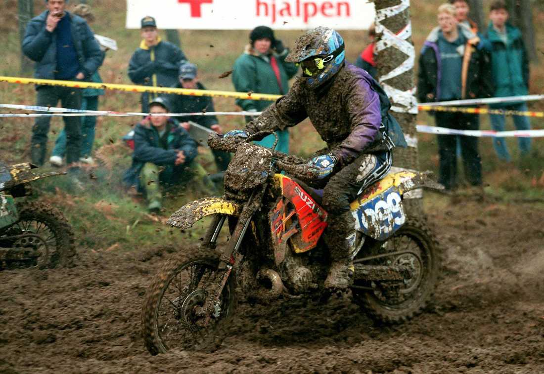"""Carla"" gjorde comeback i Gotland Grand National Enduro, 1996."