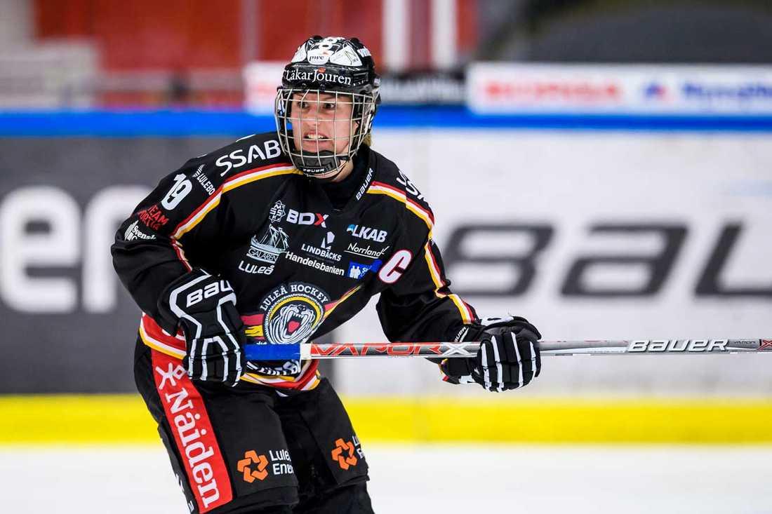 Luleå/MSSK:s kapten Emma Eliasson.