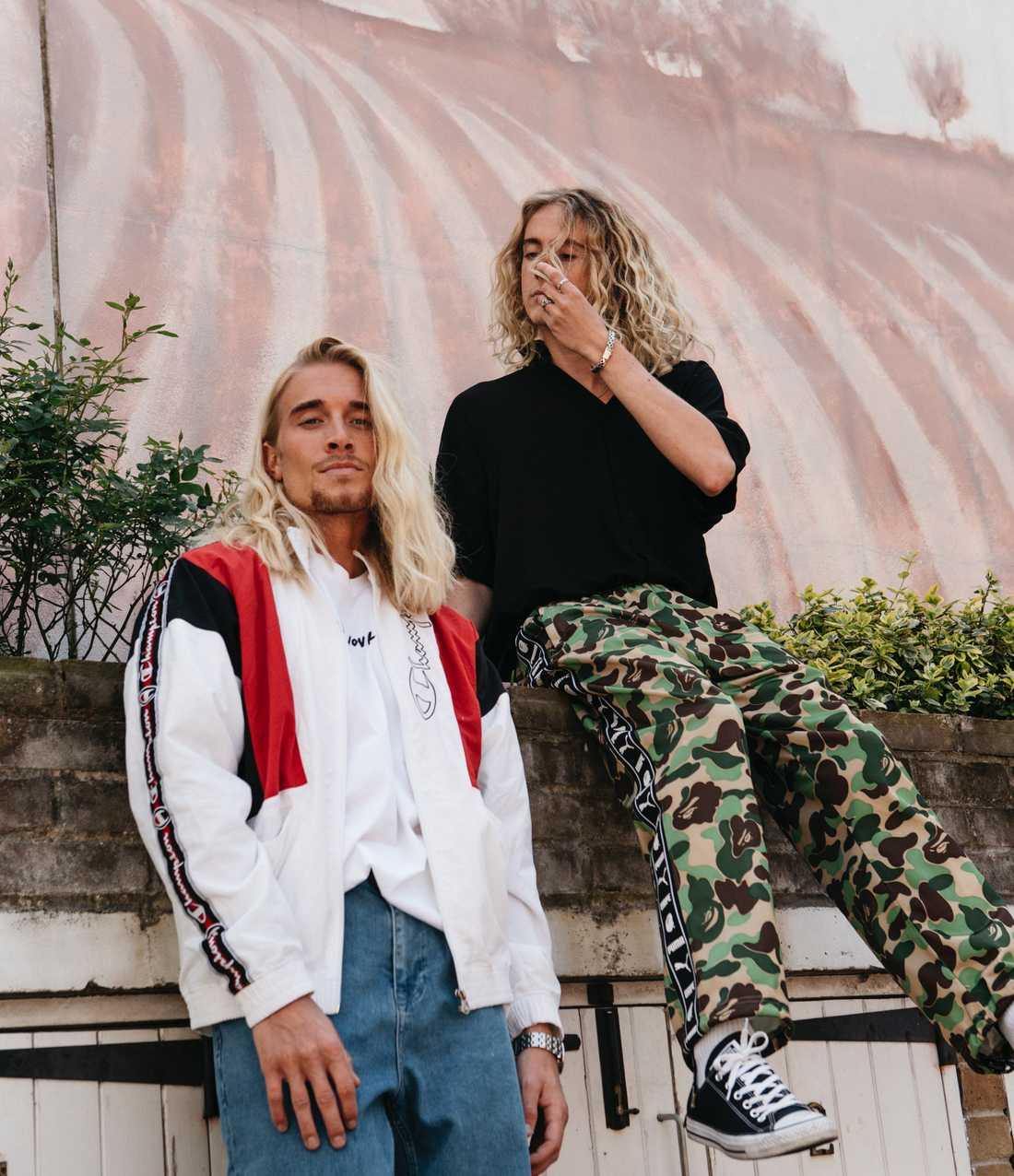 Svenska duon Hearts & Colors, som består av Philip Tillström och Nicolai Kjellberg.