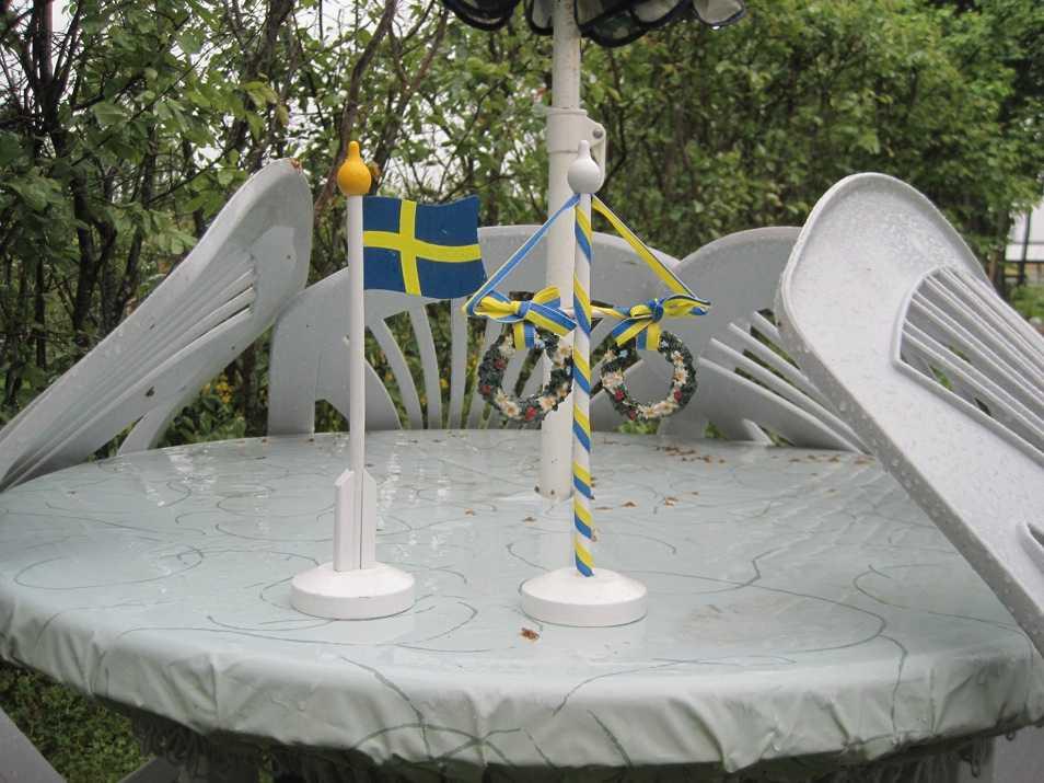 Inställd Midsommar För Thomas Lindström i Östersund innebar fredagen regn och åter regn…