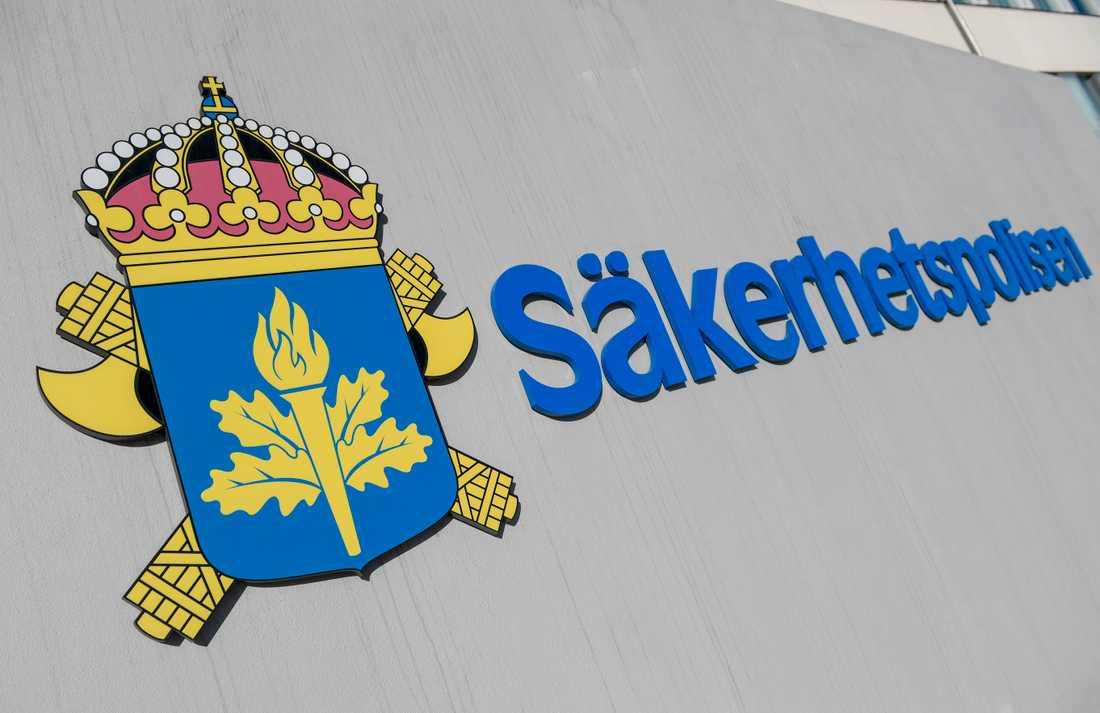 En högerextremist utvisas till Estland sedan Säpo begärt det. Arkivbild.