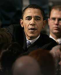 Barack Obama fick känna sig besegrad i New Hampshire.