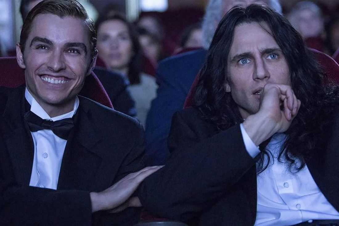 "David och James Franco spelar Greg Sestero och Tommy Wiseau i bioaktuella ""The disaster artist""."