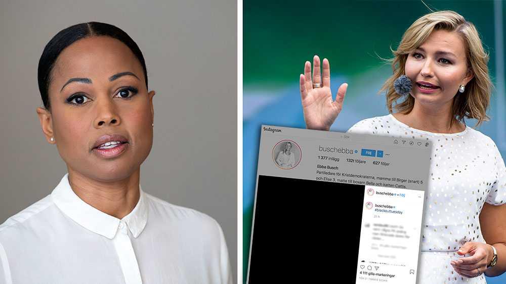 KD måste tydligt utesluta samverkan med det parti som i årtionden varit en fristad för dem som utsatt oss svarta svenskar och andra minoriteter för rasism och hat. Annars är hennes demonstration av solidaritet inget annat än ett skenheligt hyckleri, skriver Alice Bah Kuhnke (MP).