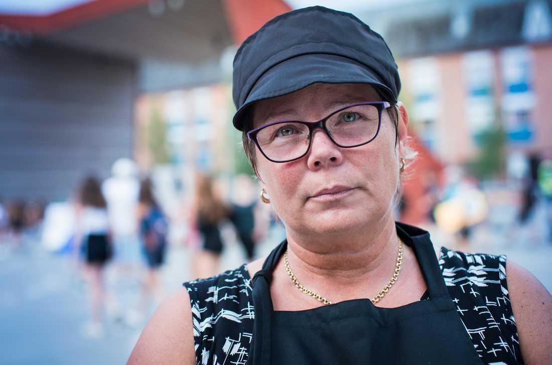 """""""Det är ofattbart"""", säger vittnet Annika Olofsson."""