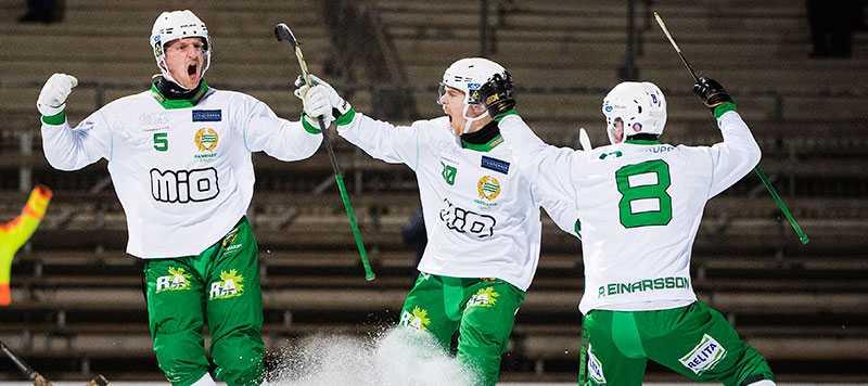 Hammarby skrällde mot Västerås.
