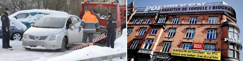 """""""VILLE DÖDA SÅ MÅNGA SOM MÖJLIGT"""" En bil med svenska nummerplåtar beslagtogs. Jyllandsposten och Politiken uppges ha varit terrormålet."""