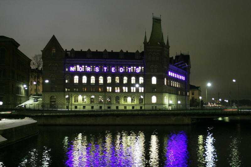 Norstedts förlag har en unik adress på Riddarholmen i Stockholm.