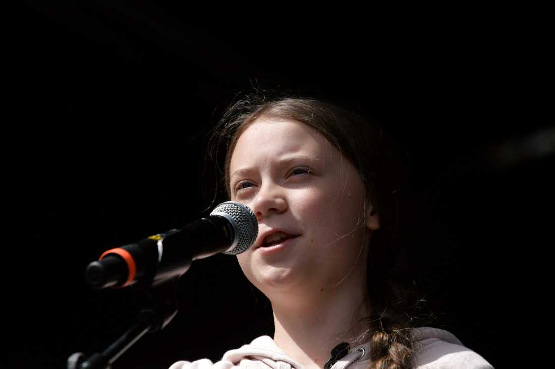Klimataktivisten Greta Thunberg