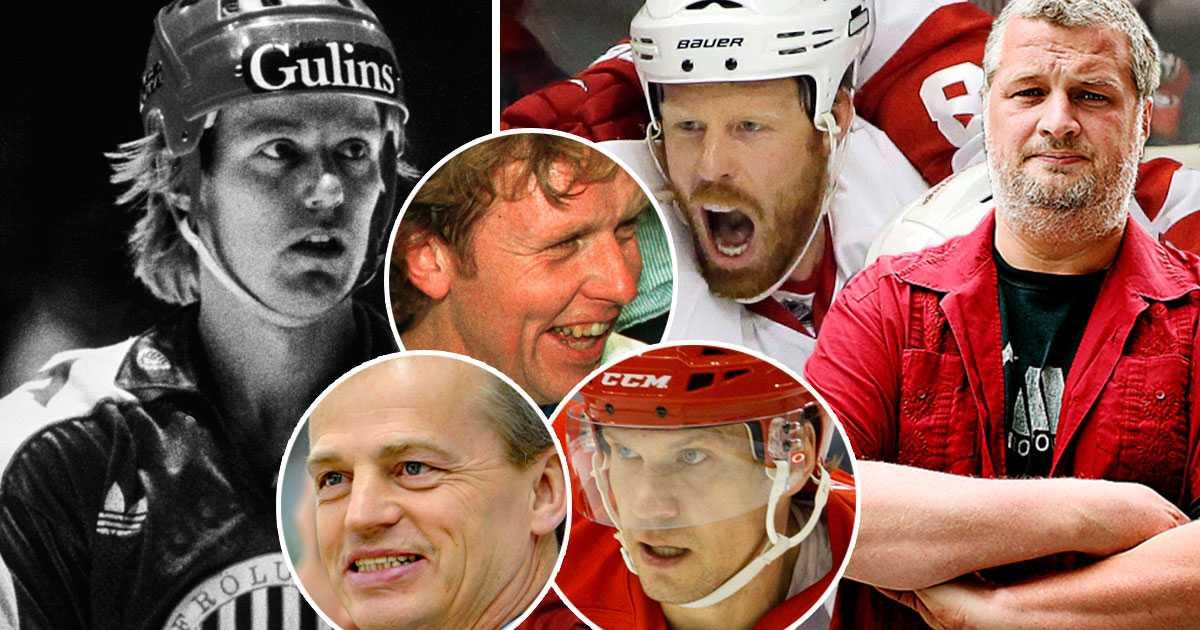 De 50 bästa svenskarna i NHL-historien – plats 37 och 38
