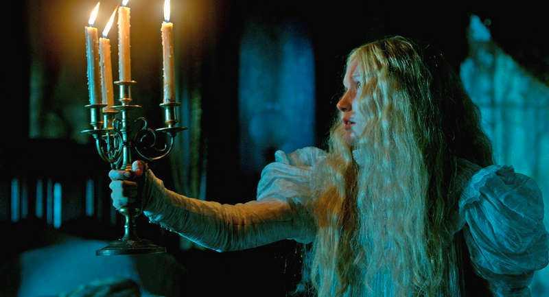 """""""BASERAD PÅ VERKLIG HÄNDELSE"""" Inledningen i bioaktuella """"Crimson Peak"""" bygger på Del Toros mammas upplevelse."""