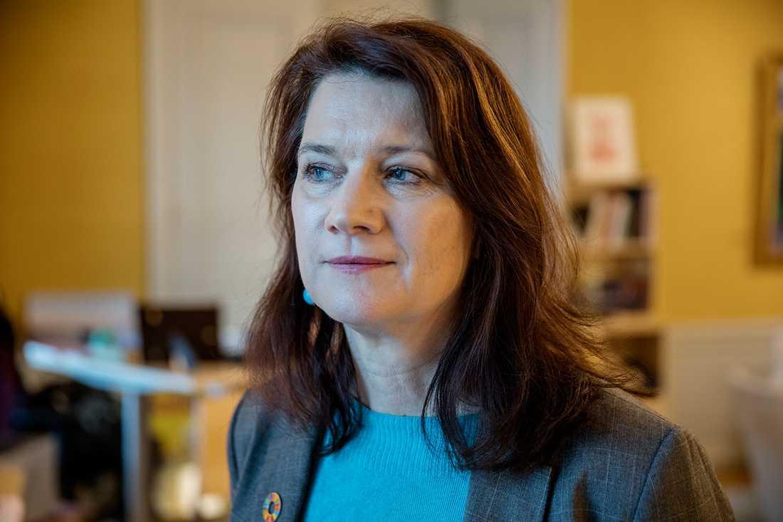Ann Linde (S).