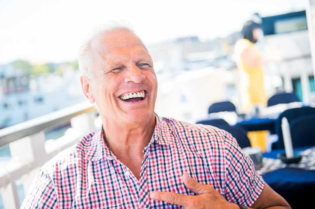 Frank Andersson fotograferad för Aftonbladet i samband med sin 60-årsdag 2016.
