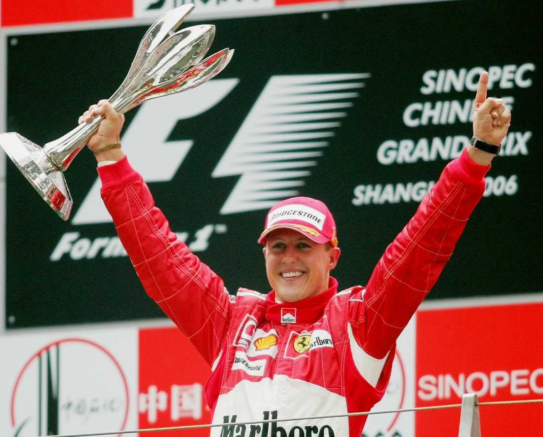 Schumachers 91 segrar såg länge ut som ett omöjligt rekord att slå.