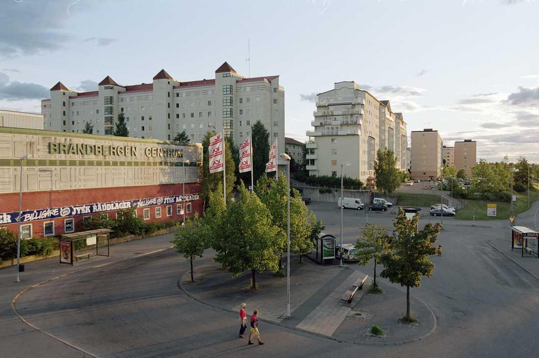 Centrum i Brandbergen.
