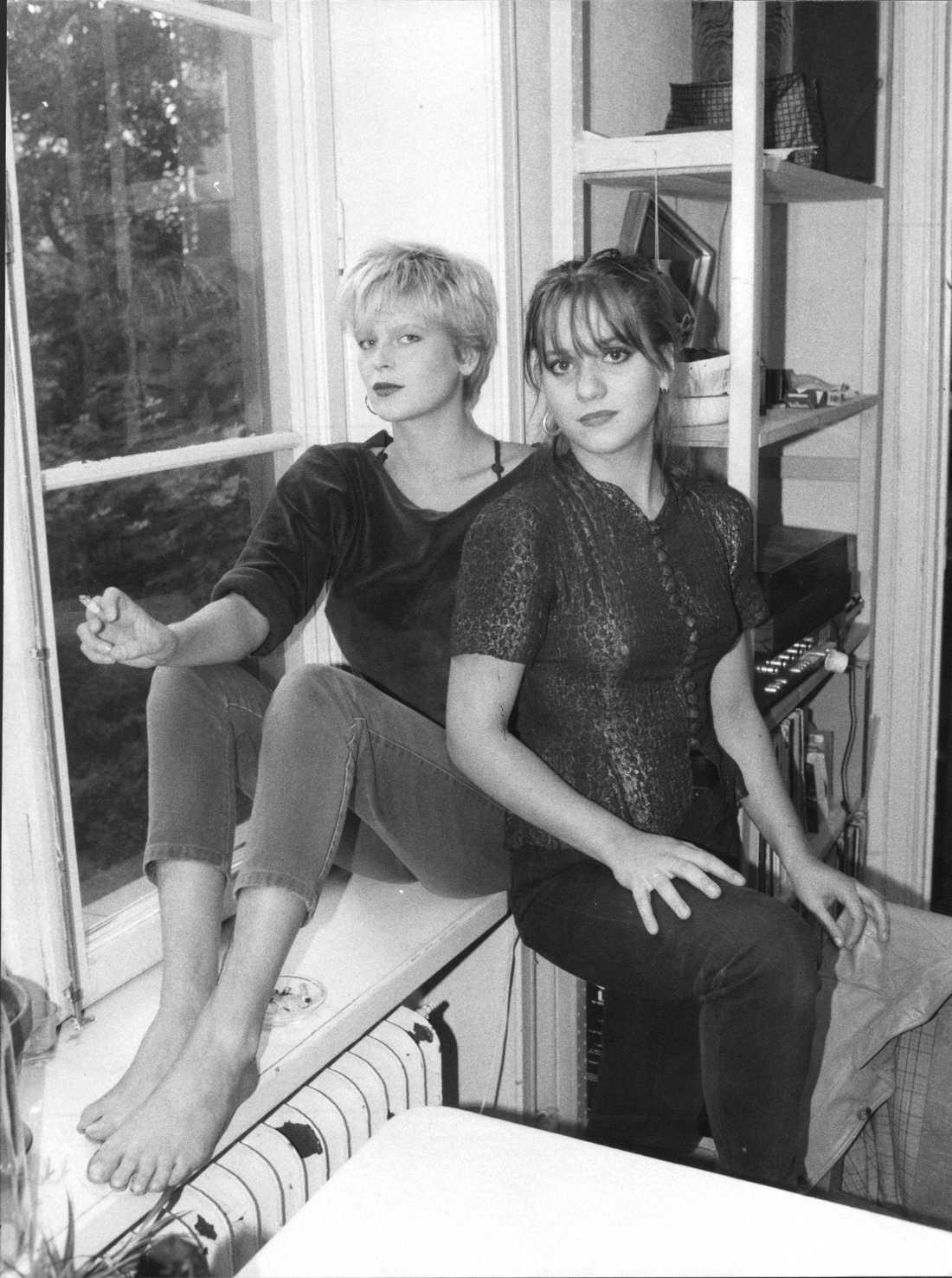Kajsa Grytt & Malena Jönsson 1985.