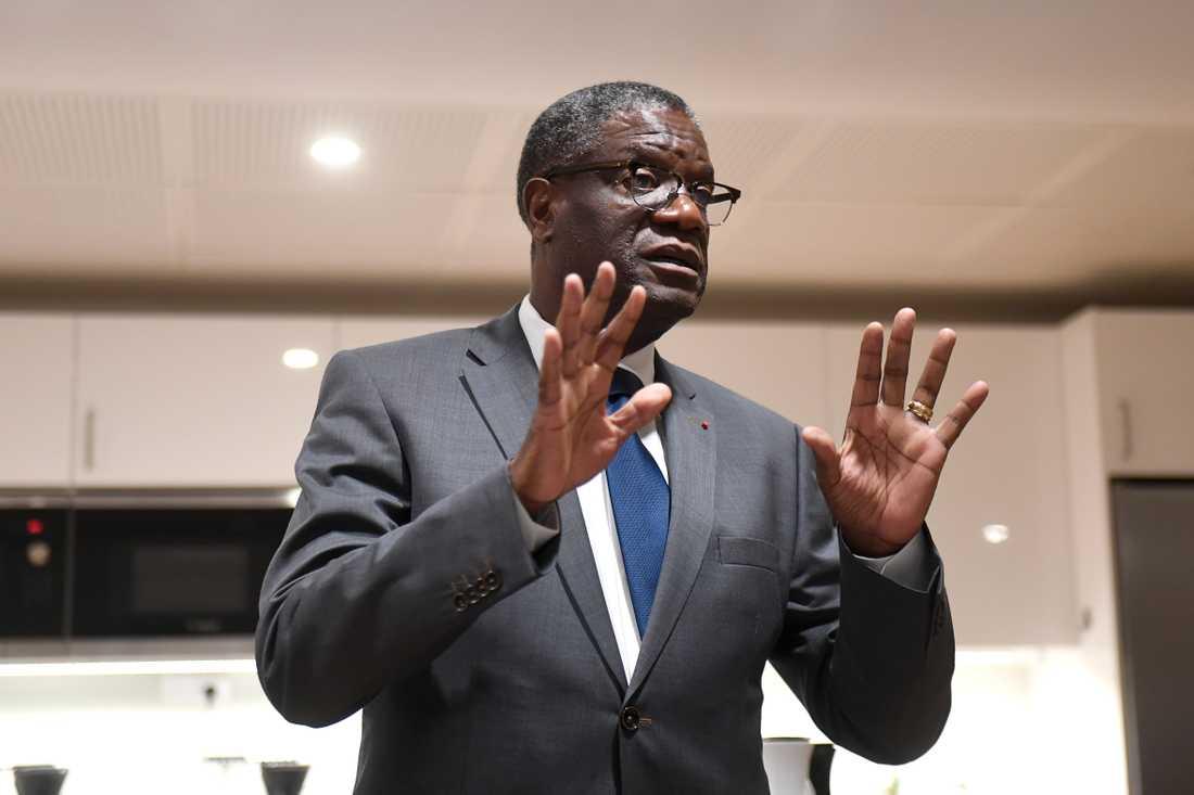 Denis Mukwege Tilldelas Nobels fredspris.