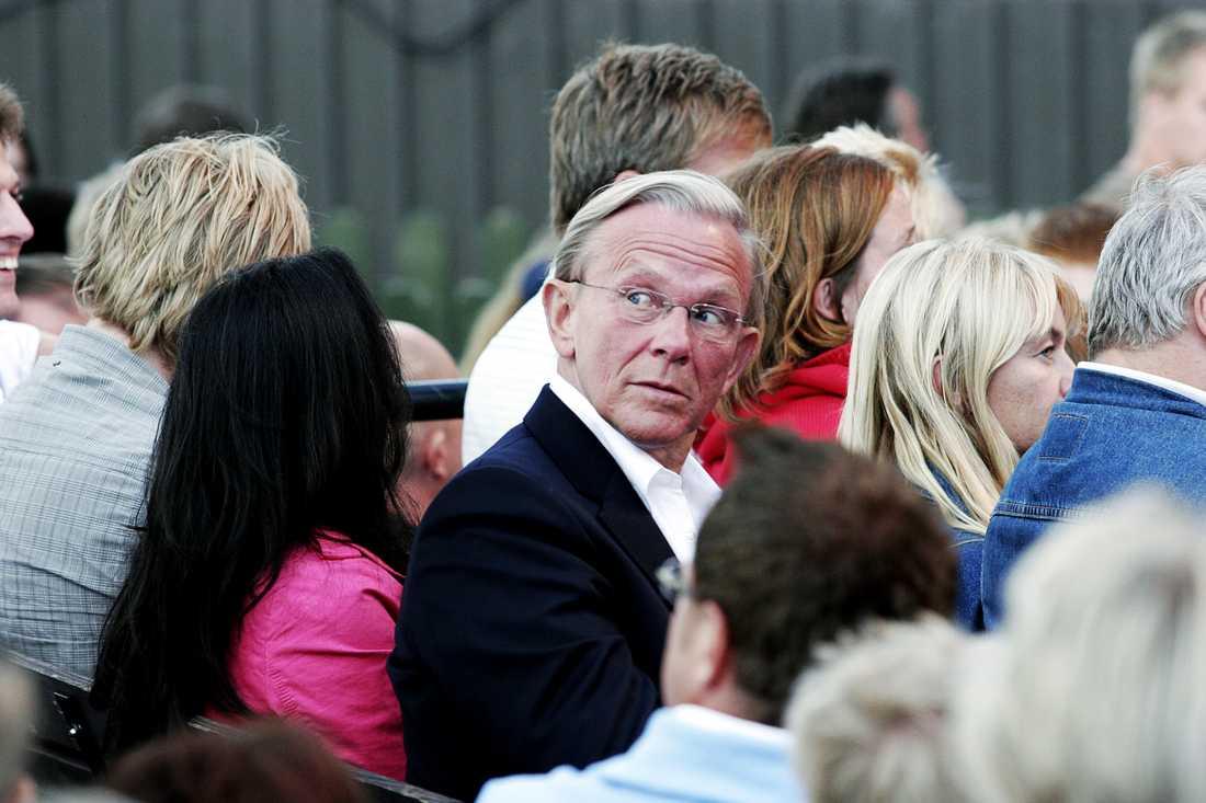 Noppe Lewenhaupt på Allsång på Skansen.