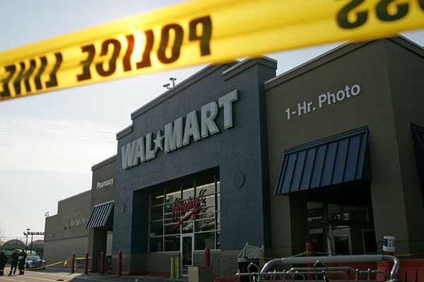 Butiken i Valley Stream där en anställd fick sätta livet till i reakaoset.