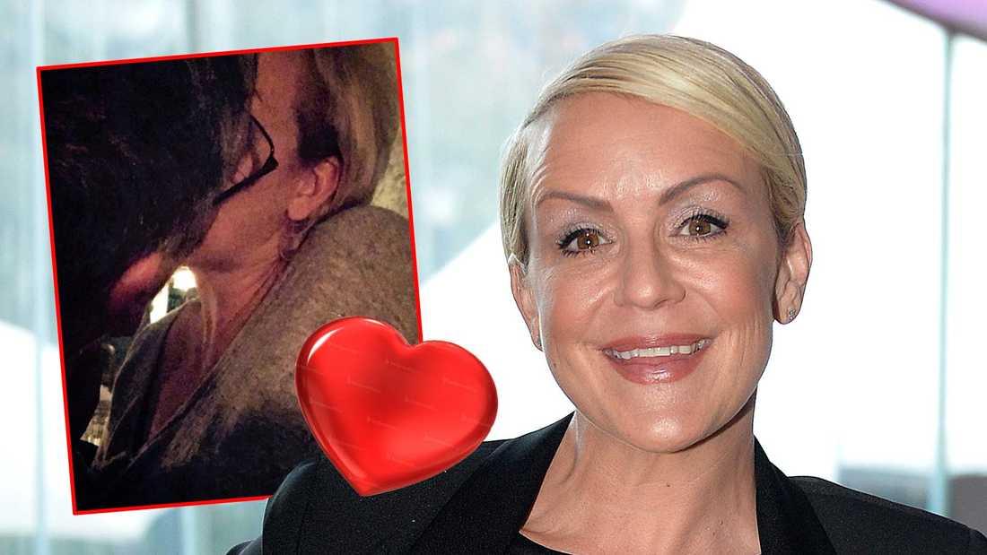 Karin Adelsköld vill inte berätta vem hennes nya kärlek är.