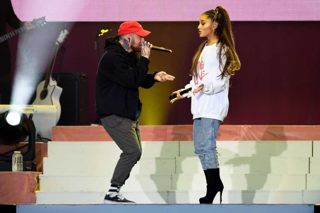 Mac Miller och Ariana Grande.