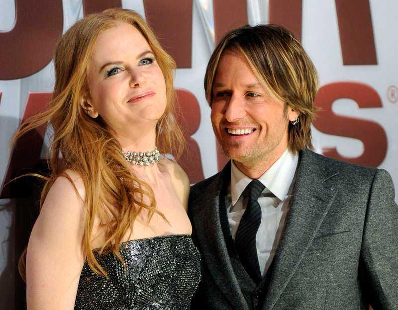 Nicole Kidman och Keith Urban.