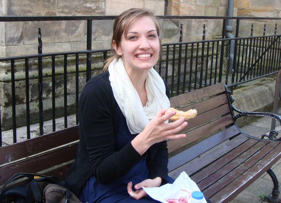 Amerikanska studenten Emily Selke.