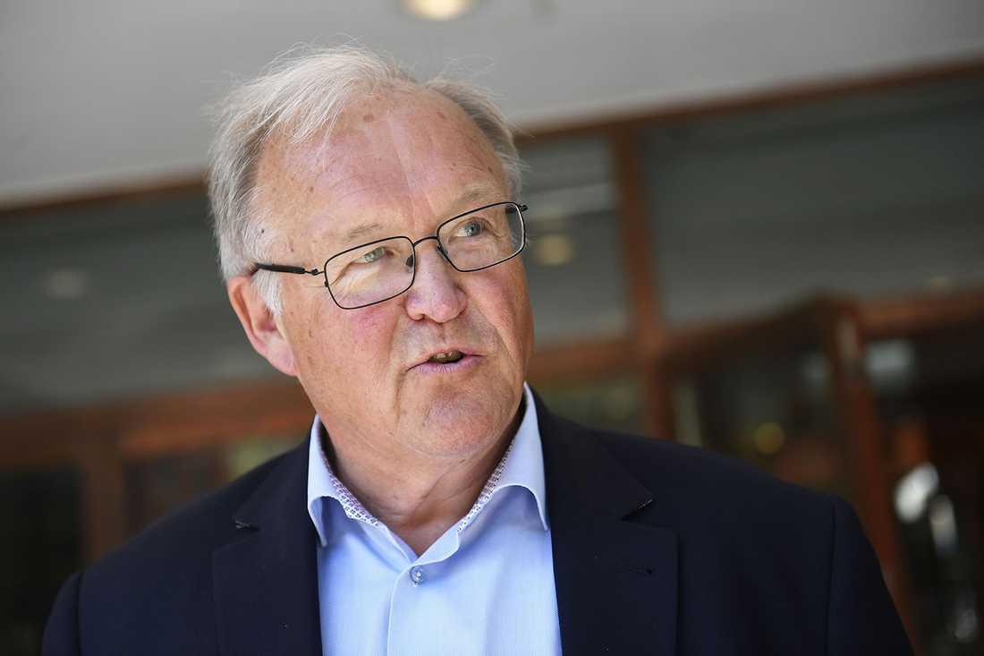 Göran Persson var statsminister 1996–2006. Dessförinnan var han finansminister och skolminister.