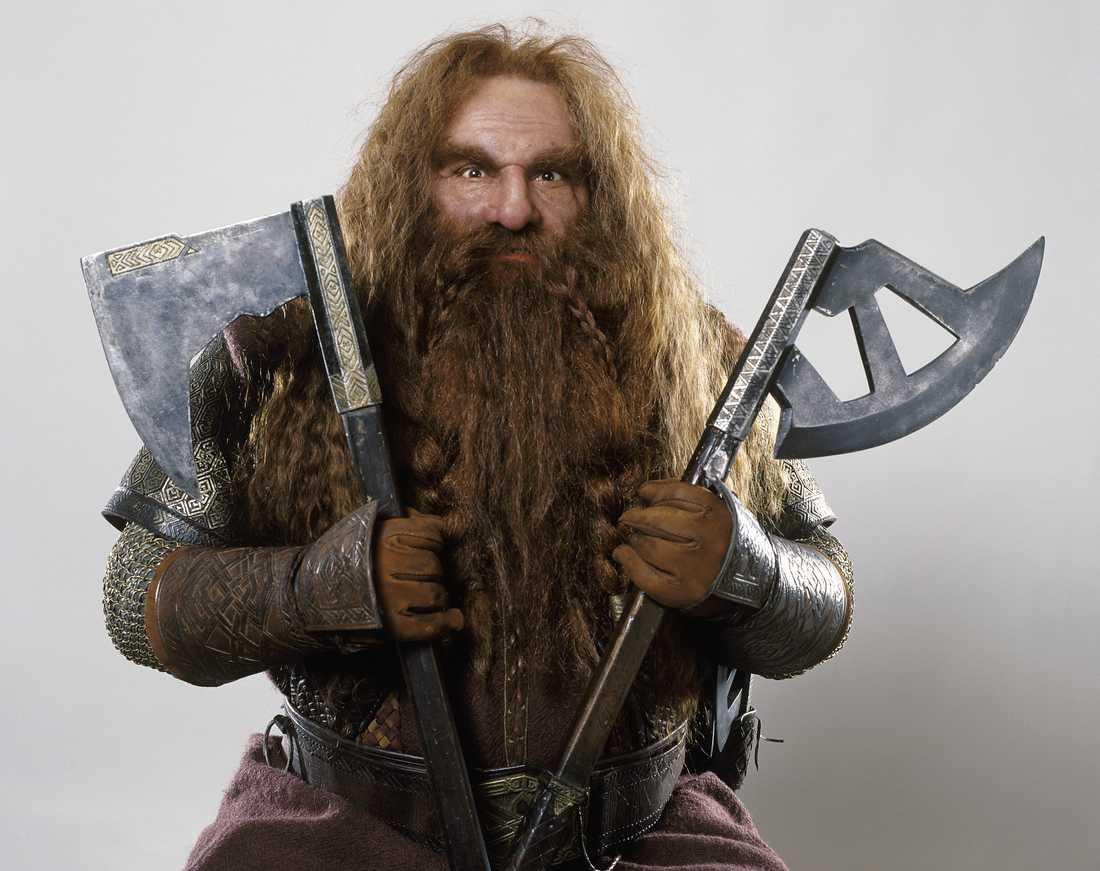 En till skäggfläta Han är butter, kan svinga en yxa som få och har en skäggfläta som slår hela Midgård med häpnad.