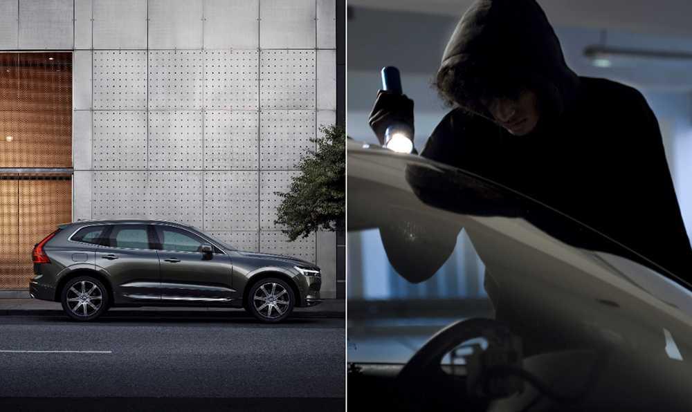 Volvo XC60 är en av de mest stöldsäkra bilarna 2017.