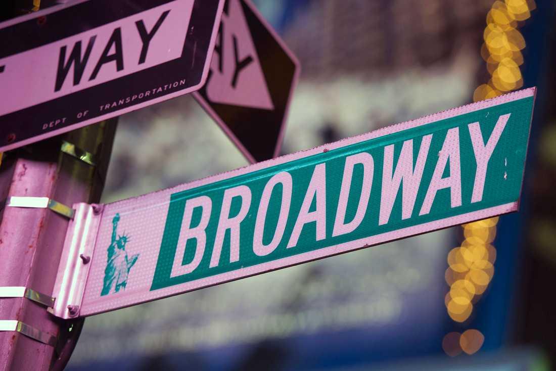 Musikal-meckat Broadway i New York.